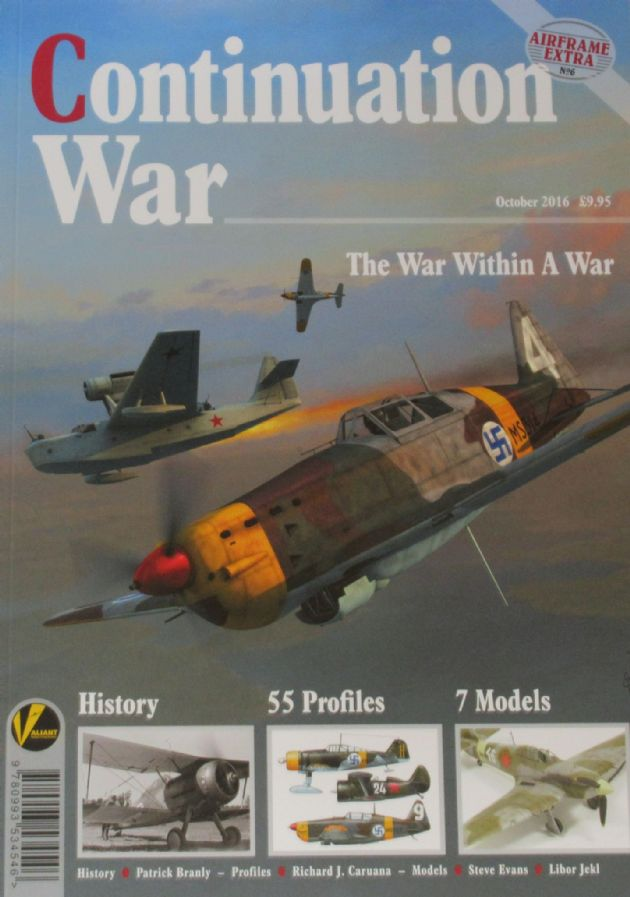 Continuation War - The War Within a War, Airframe Extra No.6